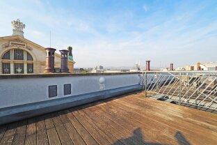 BURGTHEATER - LÖWELSTRASSE | exklusive 4-Zimmer-DG-Maisonette mit Terrasse