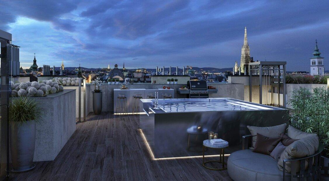 Grand Kinsky - Luxus Erstbezug Penthouse - Top 21 Eleonore