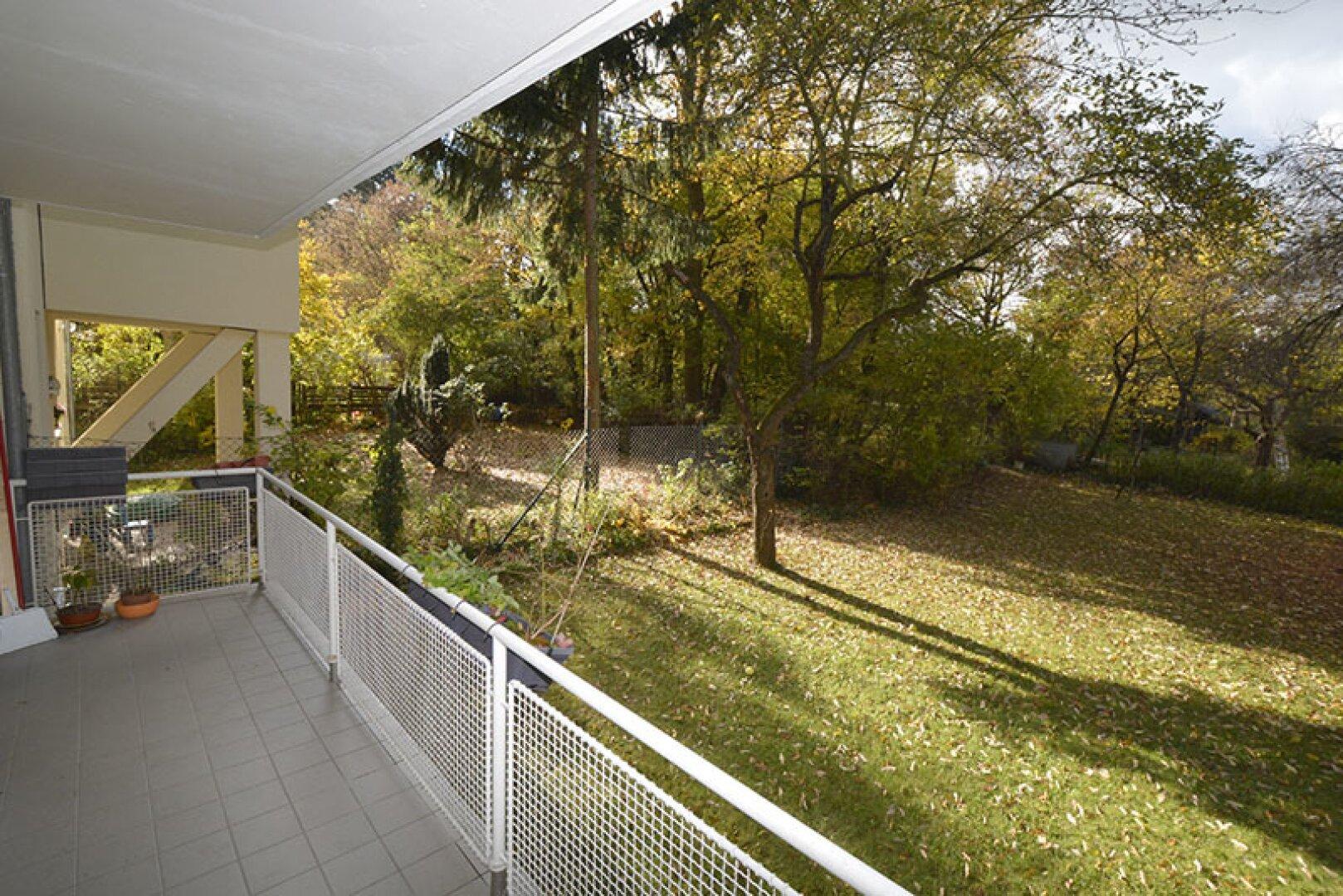 6. Balkon Grünruhela