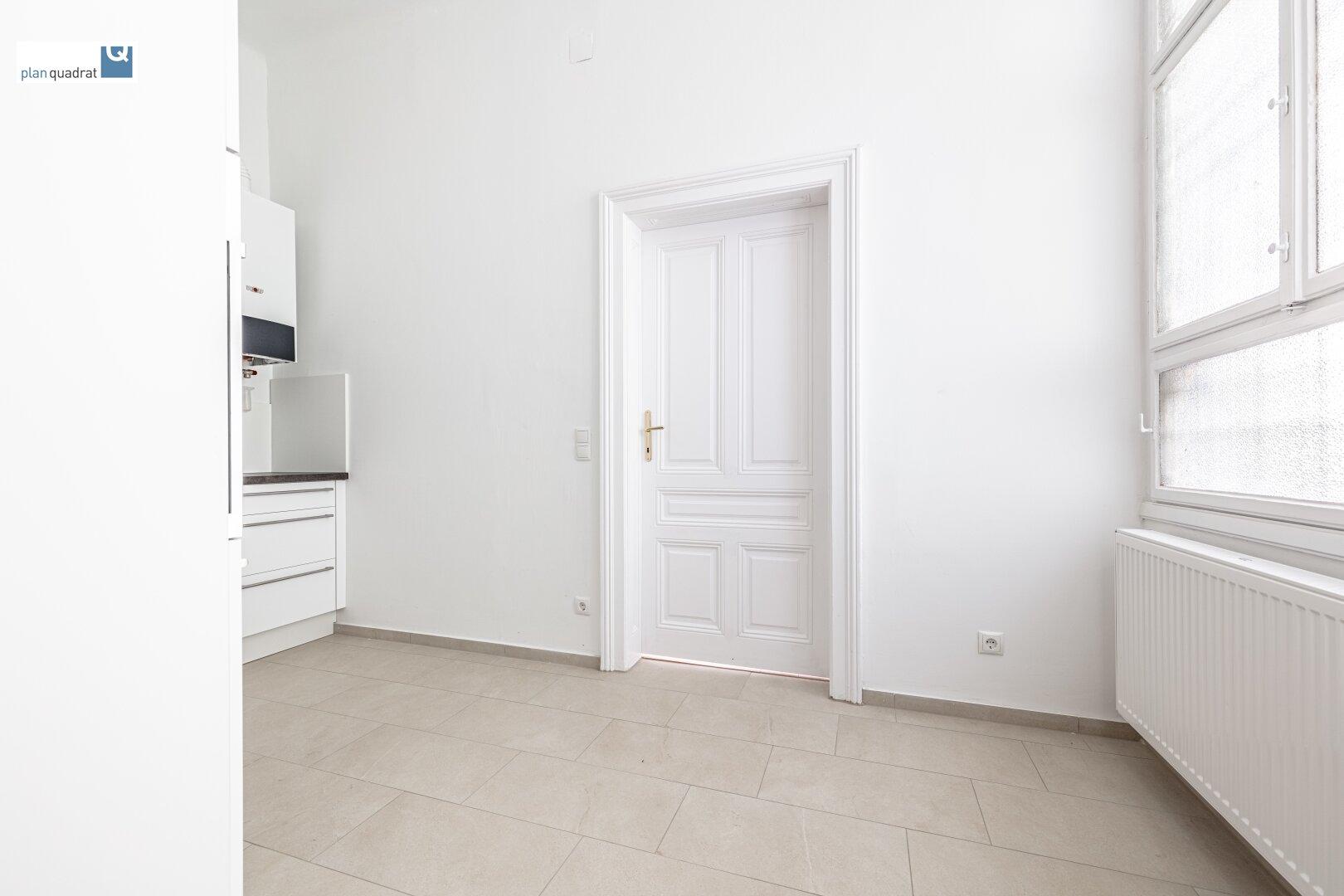 Küche (ca. 9,30 m²) - mit neuer Ausstattung