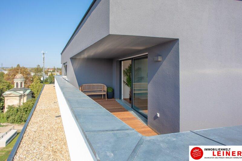 100 m² PENTHOUSE *UNBEFRISTET*BARRIEREFREI*Schwechat - 3 Zimmer Penthouse im Erstbezug mit 54 m² großer südseitiger Terrasse Objekt_9404 Bild_424