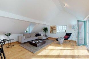Neuer Preis! Einzigartige Dachgeschosswohnung im Zentrum von Gmunden zu kaufen (3D Tour)