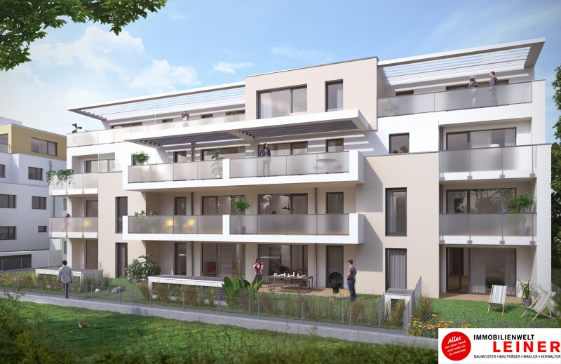 Erstbezug, 3-Zimmer-Gartenwohnung ab NUR € 1.071,- pro Monat Objekt_12016 Bild_109