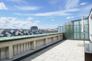 Elisabethstraße- Dachgeschoßwohnung mit großer uneinsehbarer Terrasse!