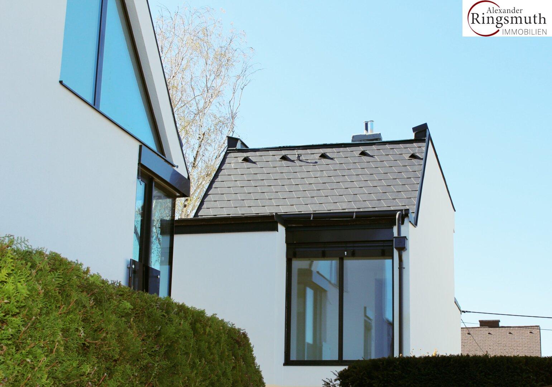 Haus Ansicht von hinten