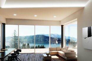 Exklusive Penthouse-Wohnung mit einzigartigem See- und Bergpanoramblick