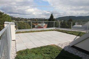 75 m² Dachgarten mit RUND-UM-BLICK + 43 m² Terrasse (südostseitig) NEUBAU-ERSTBEZUG!