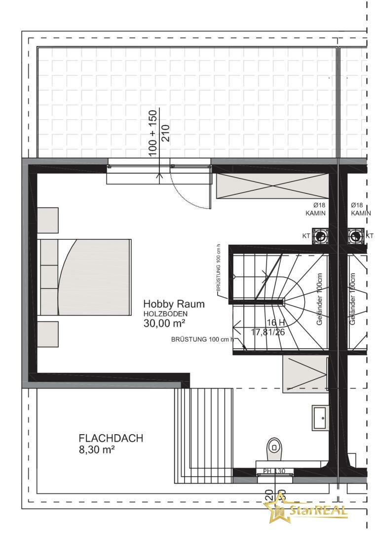HAUS 2 Dachgeschoss