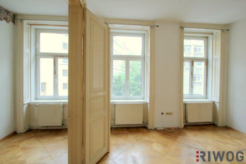 ++ 2 Zimmer bei WIEN MITTE ++ Wohnen mitten im Dritten ++ sanierungsbedürftige Altbauwohnung in absoluter Toplage /  / 1030Wien / Bild 0