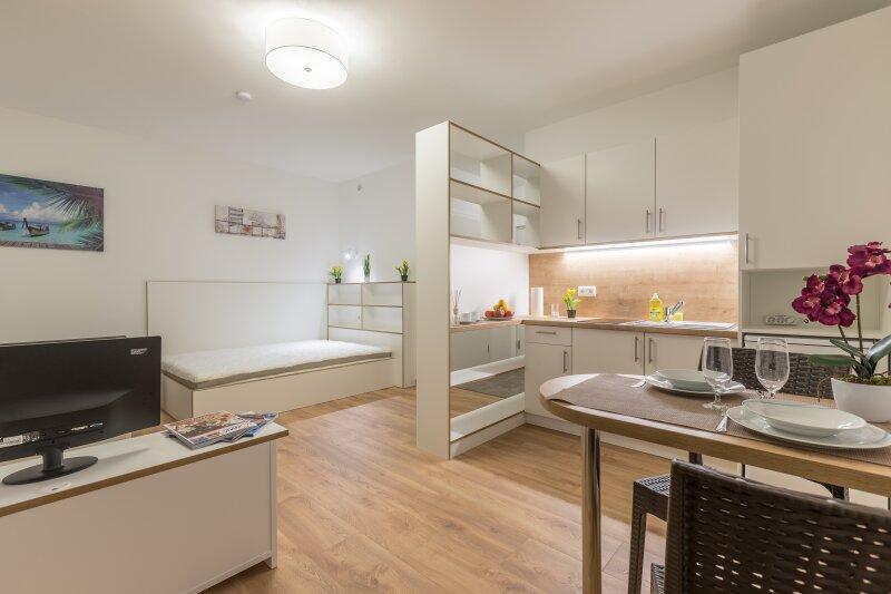 ERSTBEZUG - Hochwertige möblierte Wohnungen auf Zeit zum Pauschalpreis inkl. WLAN, Strom, Heizung, Kalt- und Warmwasser ***BARRIEREFREI***