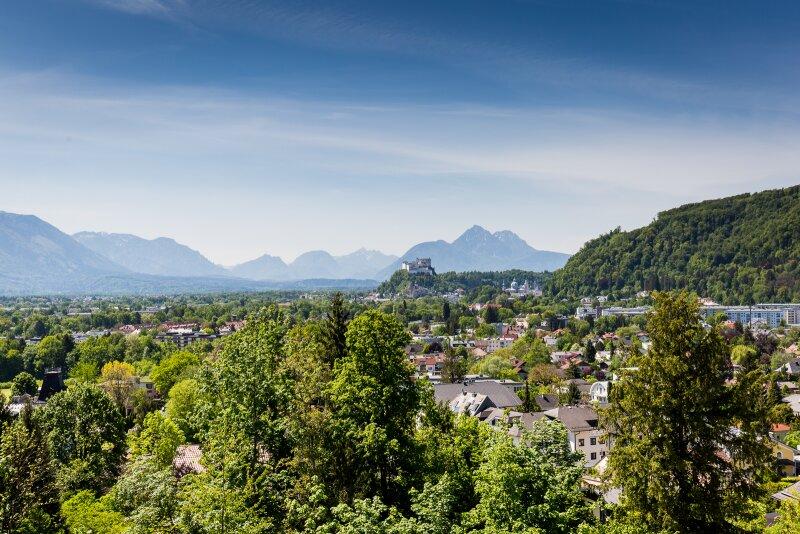 Über den Dächern Salzburgs