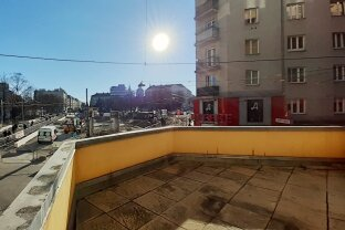 UNIKAT!            Direkt am REUMANNPLATZ 165 m² + Südost-Terrasse mit 18 m²
