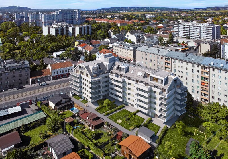 WOHNEN MIT WEITBLICK - Urbanes Wohnen mit Grünblick im Umfeld der Weinberge /  / 1210Wien / Bild 2