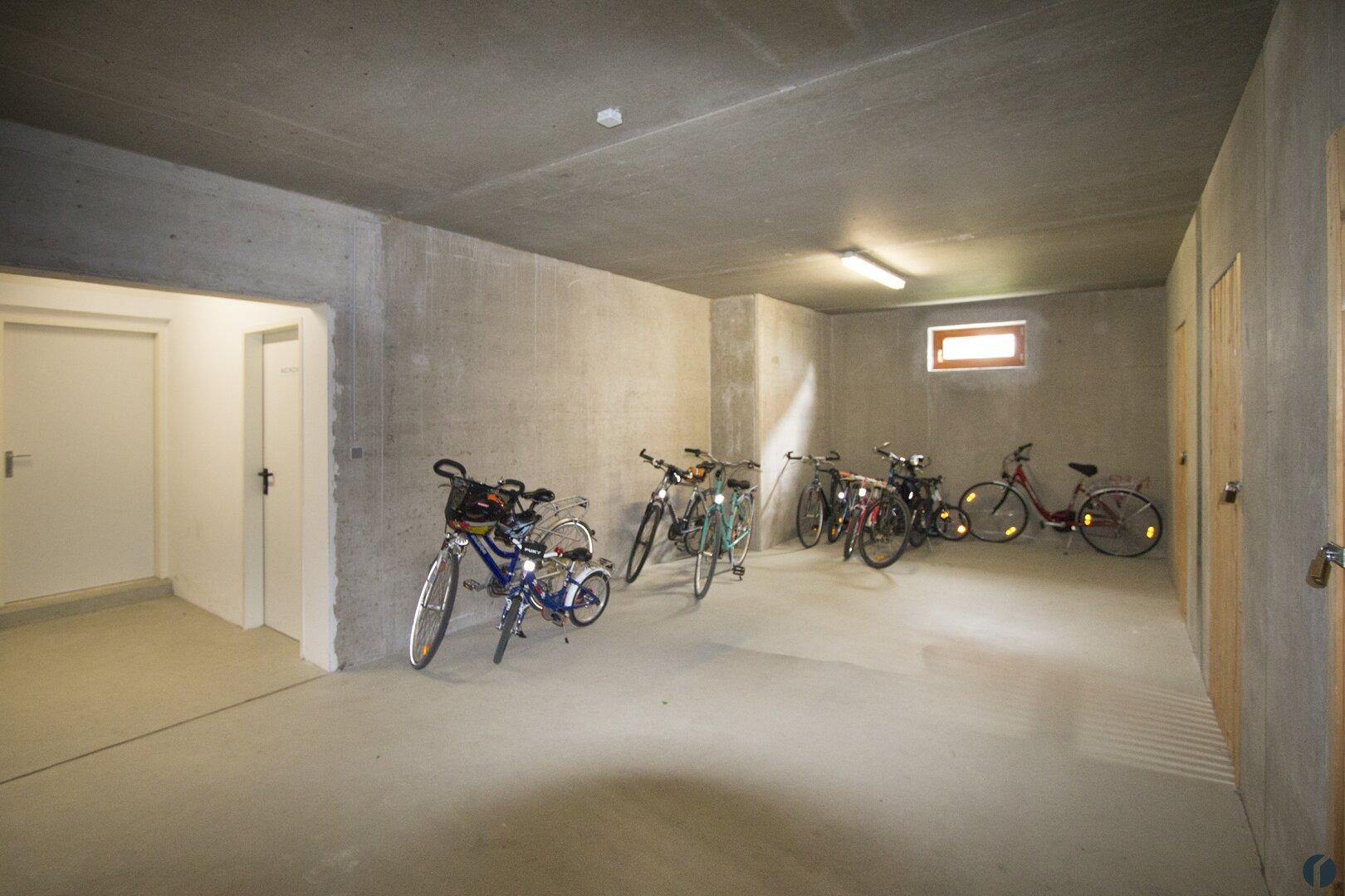 Fahrrad Abstellraum