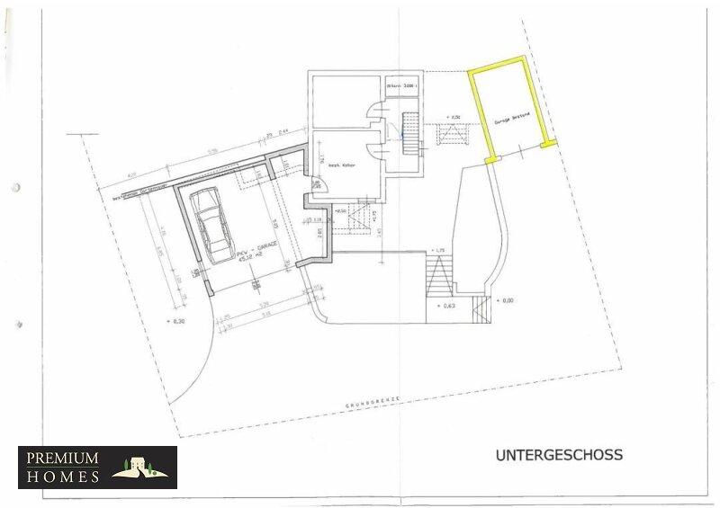 Kirchbichl Zweifamilienhaus_ hohe Qualität mit Modernem Design_Grundriss_Kellergeschoss